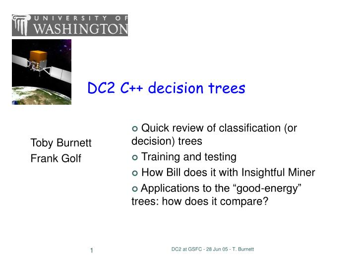 Dc2 c decision trees