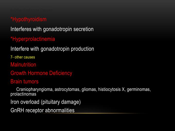 6-Other Endocrine Causes