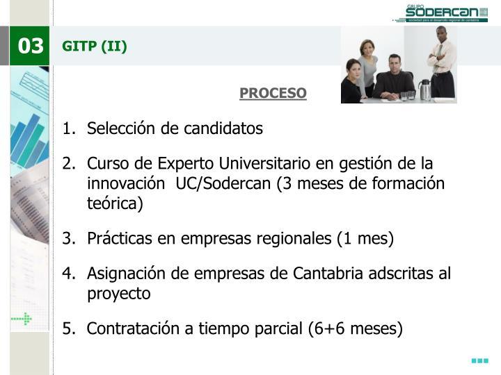 GITP (II)