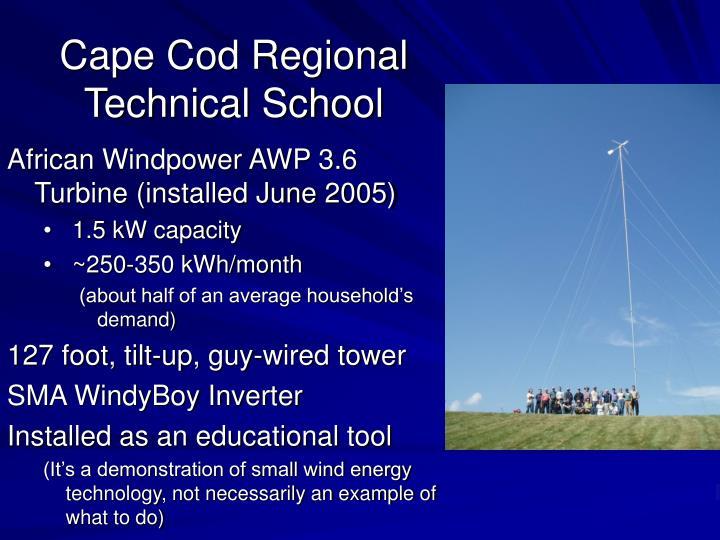 Cape Cod Regional Technical School