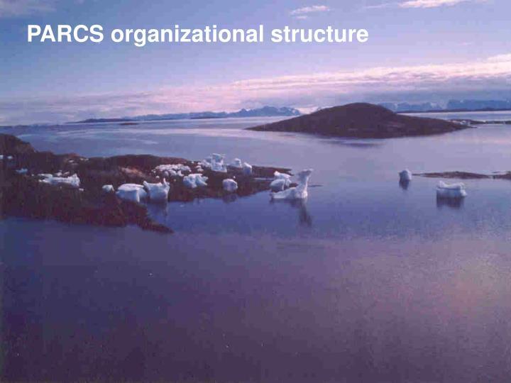 PARCS organizational structure