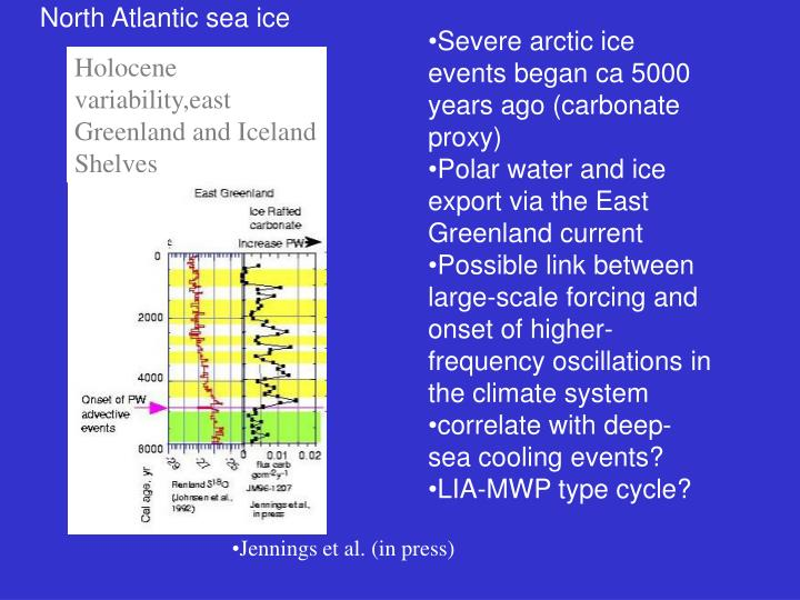 North Atlantic sea ice