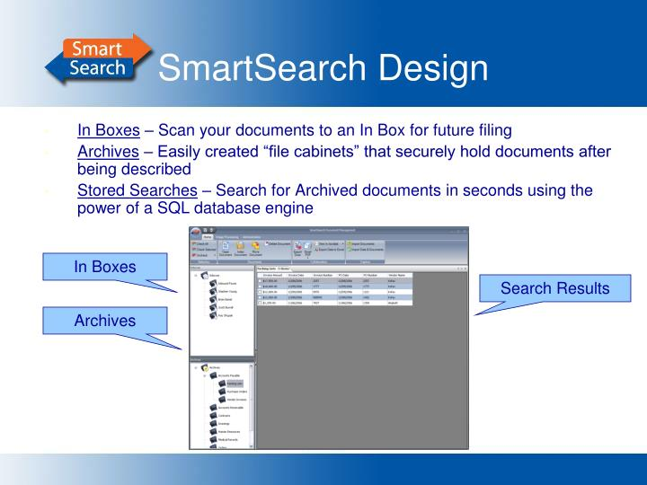 SmartSearch Design