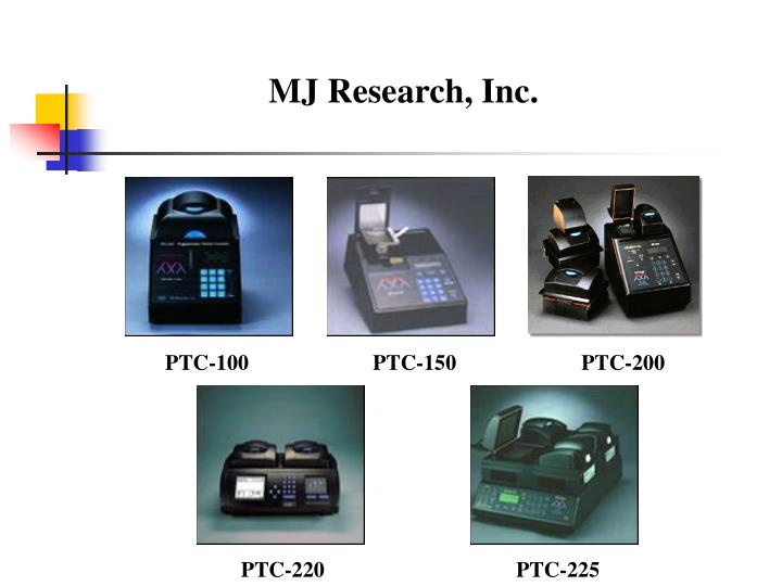 MJ Research, Inc.