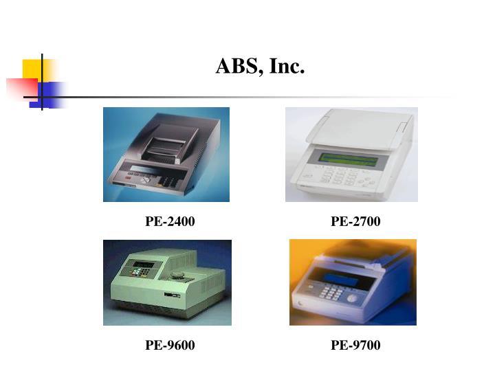 ABS, Inc.