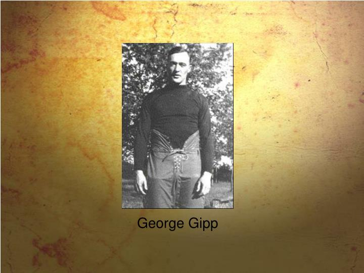 George Gipp