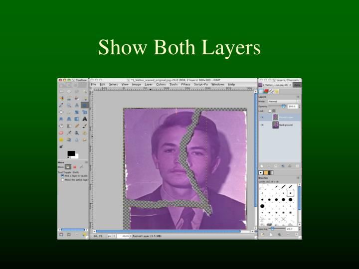 Show Both Layers