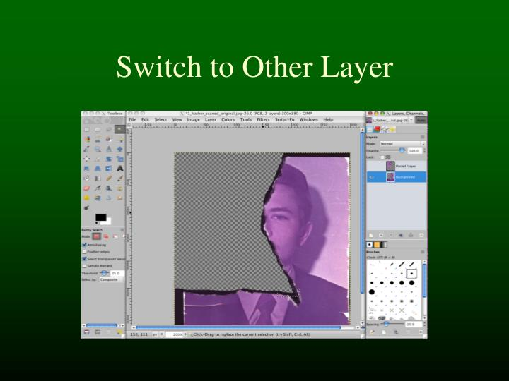 Switch to Other Layer