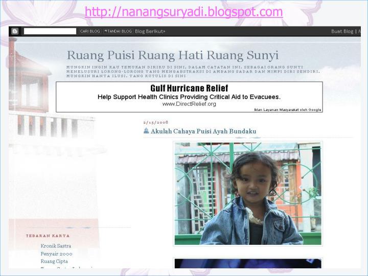 http://nanangsuryadi.blogspot.com