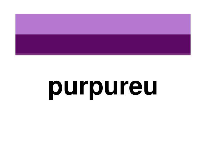 purpureu
