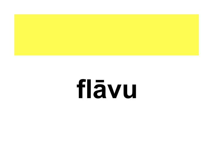 flāvu