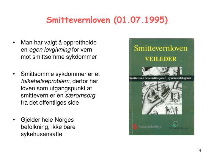 Smittevernloven (01.07.1995)