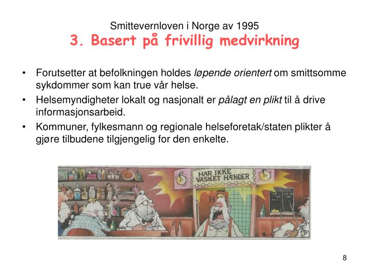 Smittevernloven i Norge av 1995