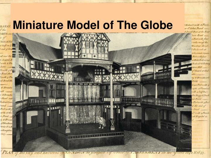 Miniature Model of The Globe