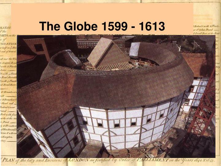 The Globe 1599 - 1613