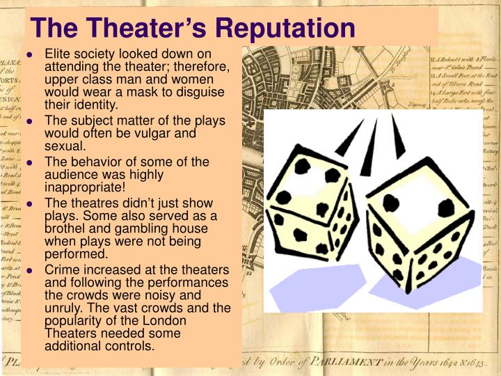 The Theater's Reputation