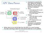 apv data parser