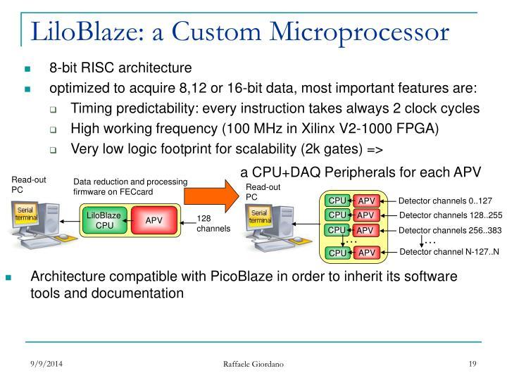 a CPU+DAQ Peripherals for each APV