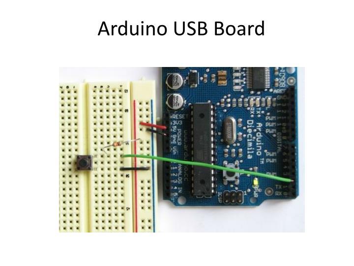 Arduino USB Board