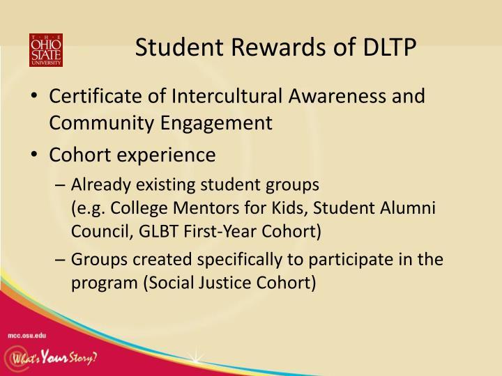 Student Rewards of DLTP
