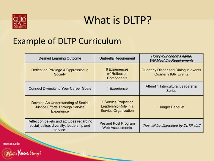 What is DLTP?