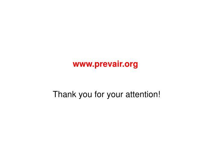 www.prevair.org