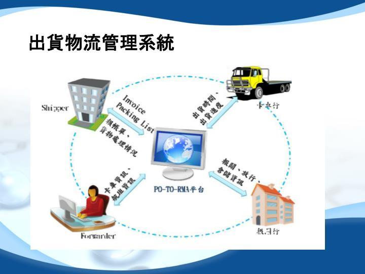 出貨物流管理系統
