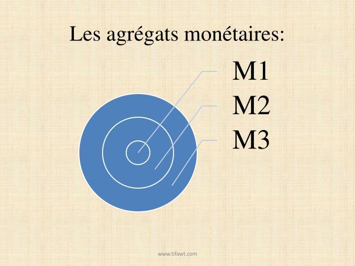 Les agrégats monétaires: