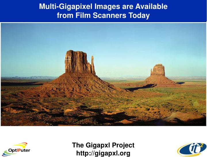 Multi-Gigapixel Images are Available