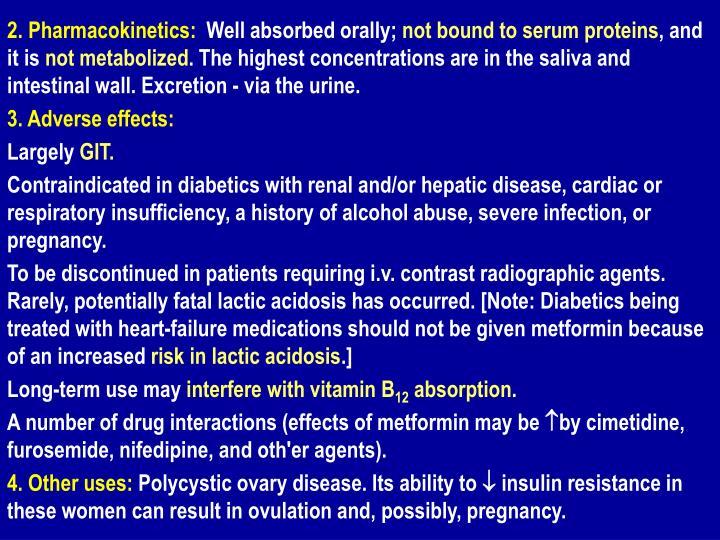 2. Pharmacokinetics: