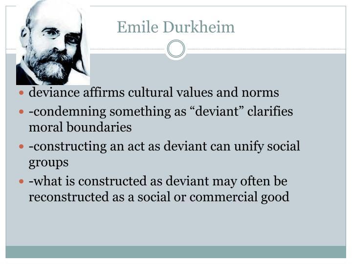 essay on emile durkheim theory