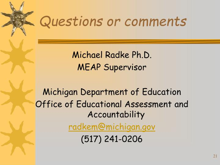 Michael Radke Ph.D.