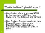 what is the new england compact