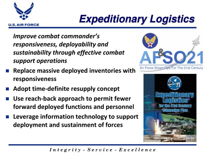 Expeditionary Logistics