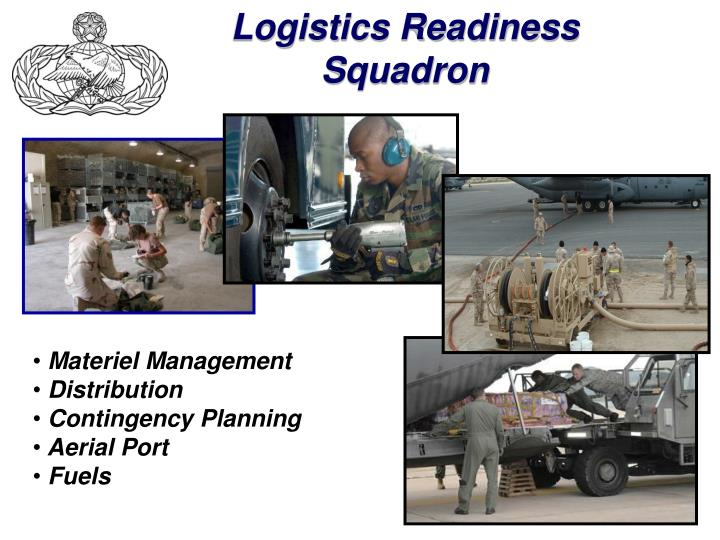 Logistics Readiness