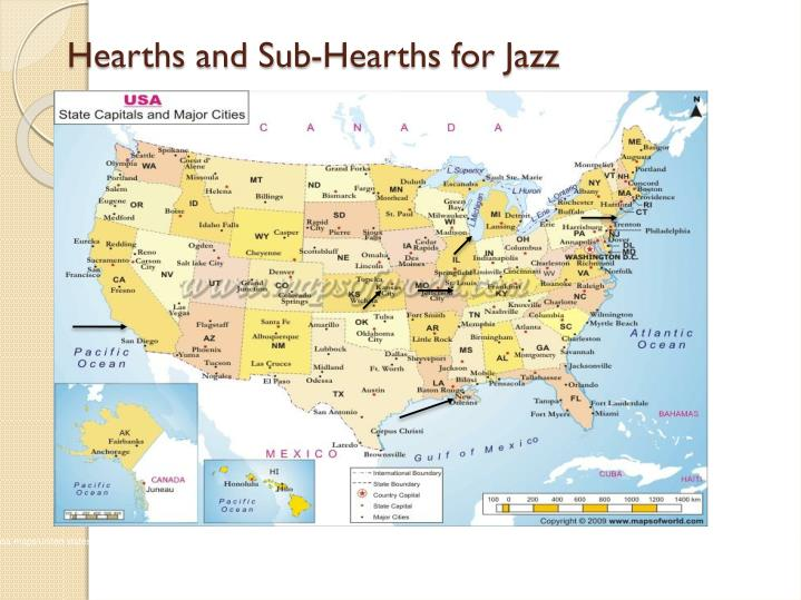 Hearths and Sub-Hearths for Jazz