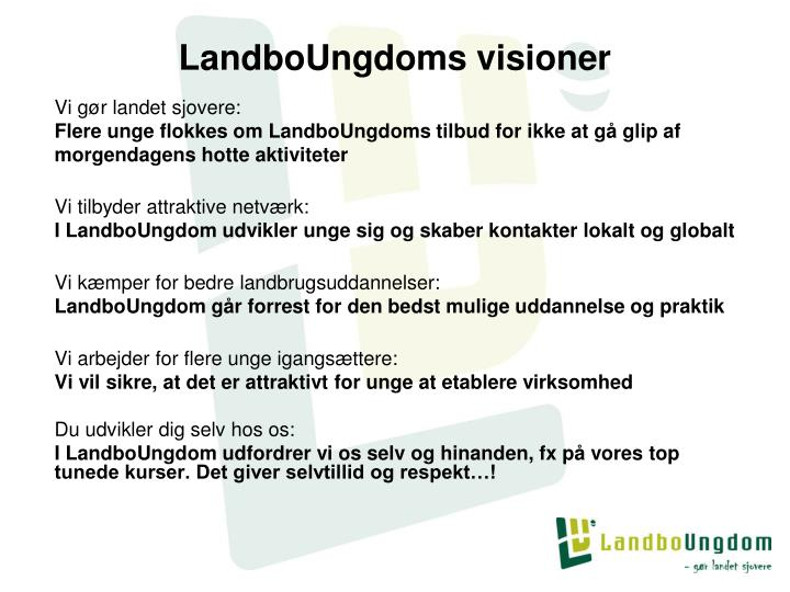 LandboUngdoms visioner