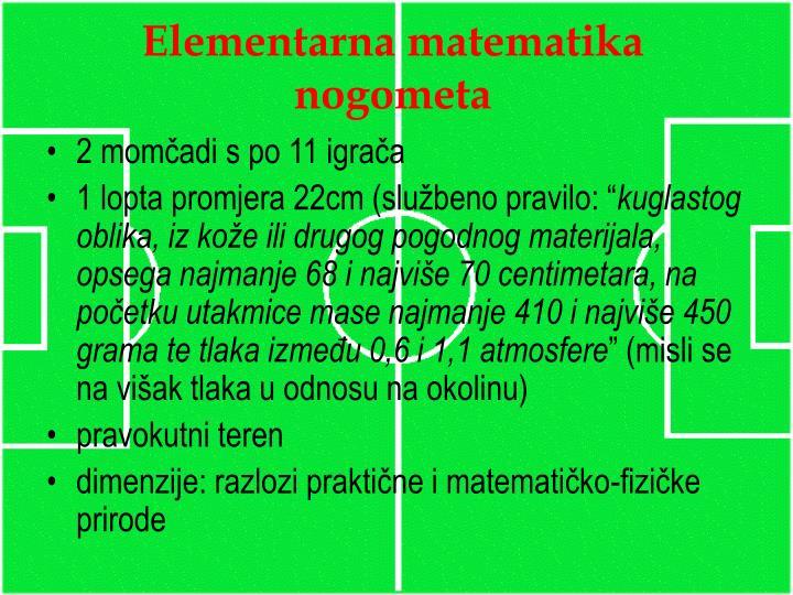 Elementarna matematika