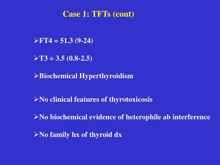 Case 1: TFTs (cont)