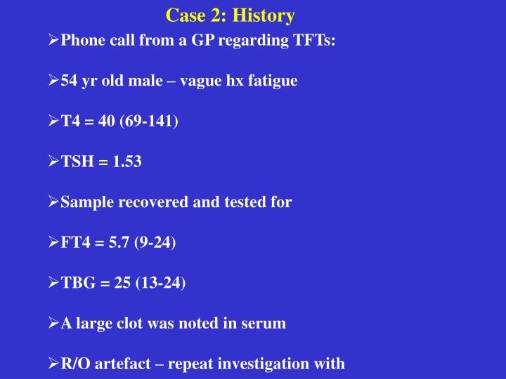 Case 2: History