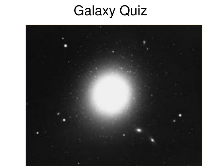 PPT - Galaxies PowerPoint Presentation - ID:4150015
