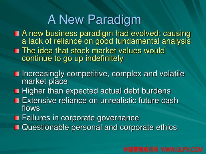 A New Paradigm