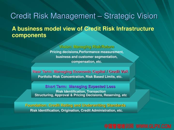 Credit Risk Management – Strategic Vision