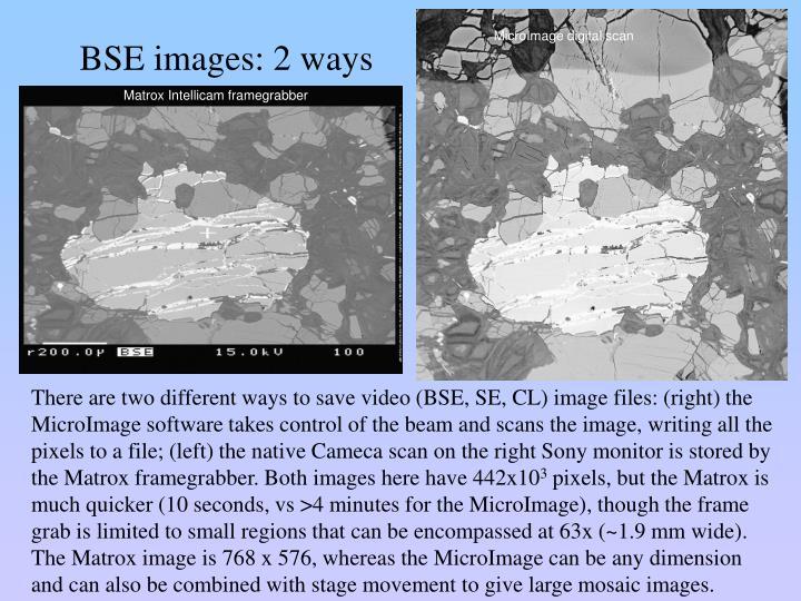 MicroImage digital scan