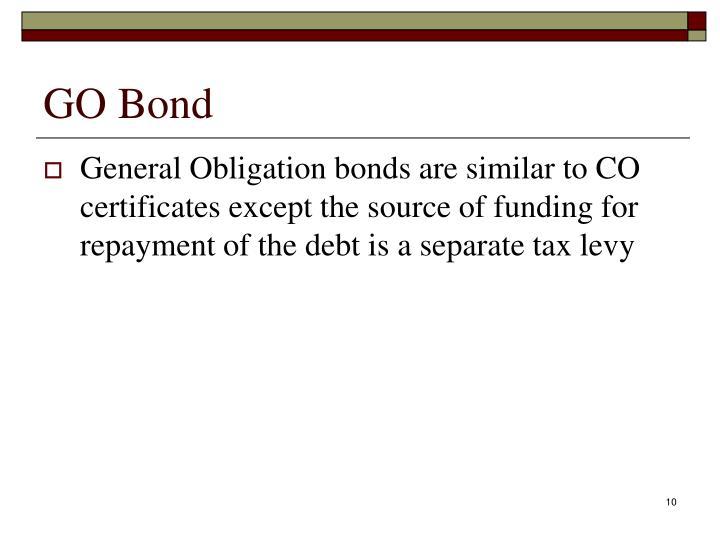 GO Bond