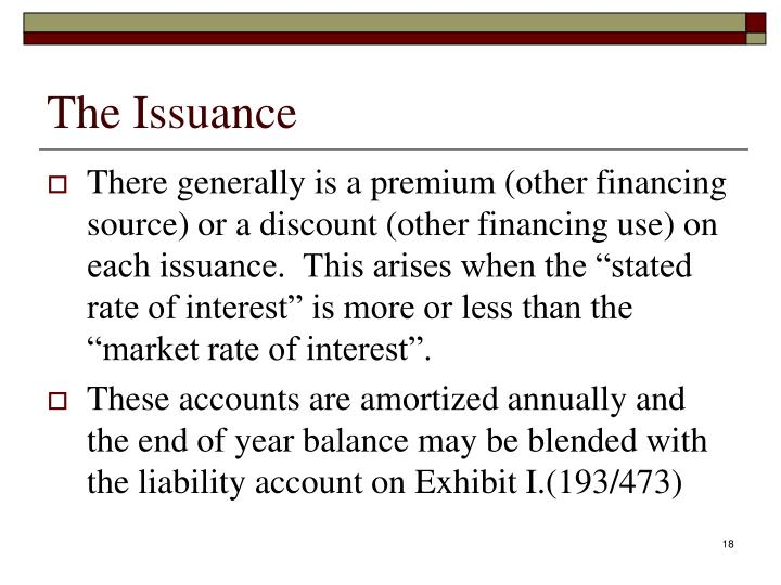 The Issuance
