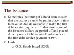 the issuance4