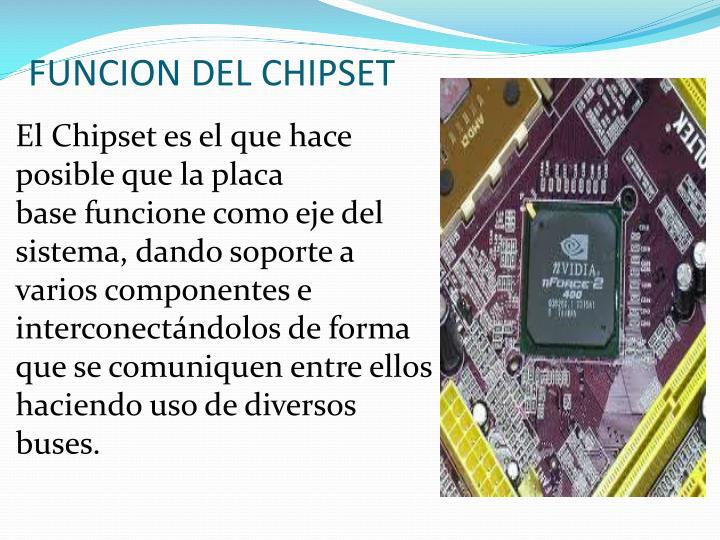 FUNCION DEL CHIPSET