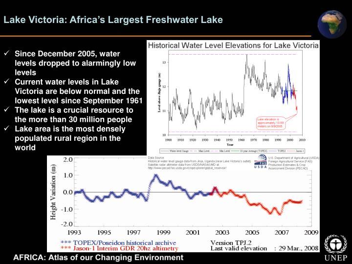 Lake Victoria: Africa's Largest Freshwater Lake
