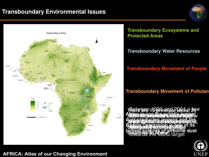 Transboundary Environmental Issues